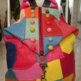 Рюкзак дизайнерский, кожа. Фото 1. Сочи.