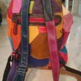 Рюкзак дизайнерский, кожа. Фото 2. Сочи.
