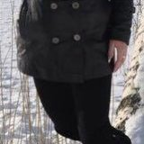 Зимняя кожаная куртка. Фото 2. Санкт-Петербург.