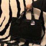 Чёрная сумка zarina. Фото 1.