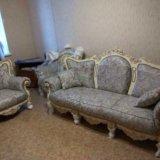 Новый комплект классической мягкой мебели. Фото 1. Москва.