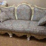 Новый комплект классической мягкой мебели. Фото 2. Москва.
