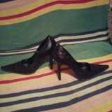 Туфельки casadei36 б/у оригинал. Фото 1.