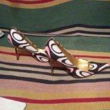 Туфельки roberto cavalli оригинал 36 размер. Фото 1. Старая Купавна.