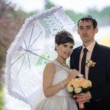 Свадебный зонт. Фото 2.
