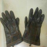 Перчатки кожаные. Фото 2.