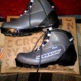 Ботинки лыжные. Фото 1.