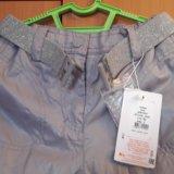 Новые утеплённые брюки для девочки. Фото 3.