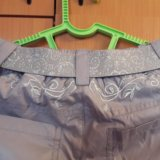 Новые утеплённые брюки для девочки. Фото 4.