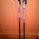 Палки лыжные 110 см. Фото 1.