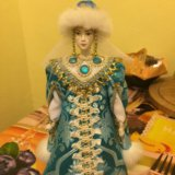 Снегурочка коллекционная кукла. Фото 1. Санкт-Петербург.