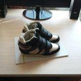 Ботинки для девочки демисезонные. Фото 2.