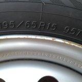 Зимние шины с дисками. Фото 1. Калининская.