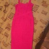 Бандажное платье. Фото 2.