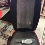 Массажер-накидка на кресло. Фото 1.