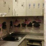 Черно белая кухня. Фото 2.