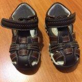 Кожаные сандали. Фото 1.