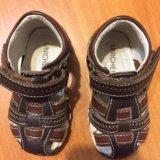 Кожаные сандали. Фото 4.