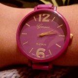 Часики женские фиолетовые. Фото 1.