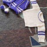 Вязанный набор( кофта, жилетка, штанишки, берет). Фото 3. Саратов.
