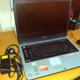 Почти новый ноутбук toshiba satellite m40x. Фото 1.