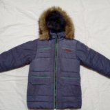 Куртка зимняя на мальчика 8-11 лет. Фото 1. Кинешма.