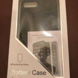 Чехол аккумулятор зарядка на айфон iphone 6+ 6s+7+. Фото 1.