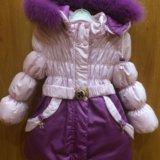 Куртка пальто зимнее. Фото 1.
