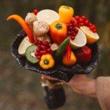 Вкусные букеты из овощей и фруктов. Фото 3. Ярославль.