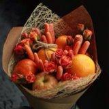 Вкусные букеты из овощей и фруктов. Фото 1. Ярославль.