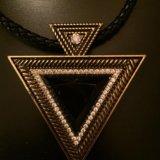 Подвеска треугольник. Фото 2.