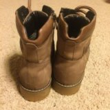 Ботинки полусапоги сапоги тимбы. Фото 2. Черное.