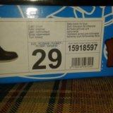Ботинки детские кожаные зимние. Фото 2.