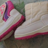 Зимняя детская обувь. Фото 4.