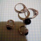 Бижутерия, кольцо и серьги. Фото 1.