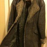 Продаю кожаное пальто. Фото 2. Химки.