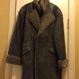 Продаю кожаное пальто. Фото 1. Химки.