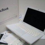 Apple macbook 13 a1182 white. Фото 1.