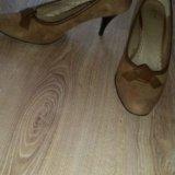 Туфли замшевые. Фото 2. Выборг.