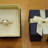 Кольцо серебро жемчуг 16. Фото 1. Долгопрудный.