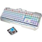Игровая клавиатура с подсветкой aula. Фото 1.
