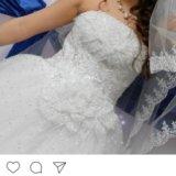 Шикарное свадебное платье. Фото 4. Екатеринбург.