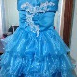 Нарядное платье на девочку. Фото 1. Армавир.