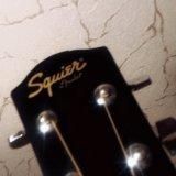 Красивая акустическая гитара fender squier sa-105. Фото 2.