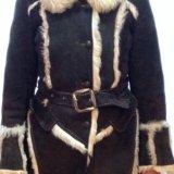 Дублёнка из натурального меха тосканского ягнёнка. Фото 2. Москва.