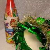 Елка новогодняя из конфет. Фото 2.