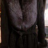 Зимнее пальто с мехом песца. Фото 3. Москва.