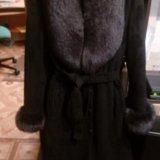 Зимнее пальто с мехом песца. Фото 4. Москва.