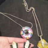 Бижу.кольца,серьги,подвески. Фото 2.