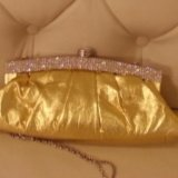 Шикарное платье под золото. Фото 3.